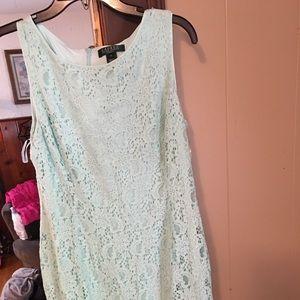 Mint green Ralph Lauren dress